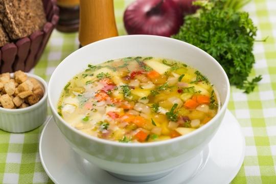 スープ つるむらさき